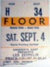 1971 Led Zeppelin Maple Leaf Gardens Toronto