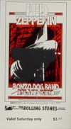 1969 Led Zeppelin Winterland Ballroom SF