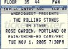 The Rolling Stones – Portland, 2005
