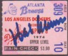 1974 Dodgers at Braves Aaron 715