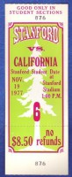 1977 Big Game California at Stanford