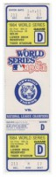 1984 World Series Game ticket 4 Padres at Tigers