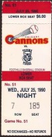 1990 MiLB PCL Tigers at Cannons