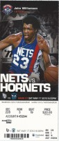 2012 Hornets at Nets