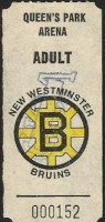 WHL New Westminster Bruins