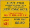 1976 ABA Colonels at Nets