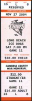2004 ECHL Ice Dogs at Chiefs