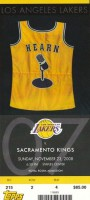 2008 Kings at Lakers Chick Hearn