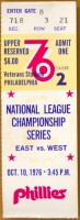 1976 NLCS Reds at Phillies