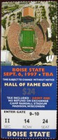 1997 NCAAF Boise State at Wisconsin ticket stub