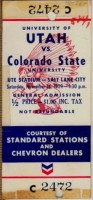 1959 NCAAF Colorado State at Utah