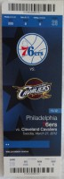 2012 Cavaliers at 76ers