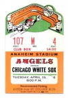 1966 White Sox at Angels Opening Day