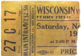 1922 NCAAF Wisconsin at Michigan - Ferry Field