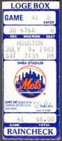 1983 Astros at Mets