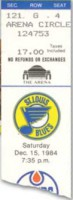 1984 Oilers at Blues Gretzky 5 Goal Game