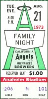 1973 Brewers at Angels