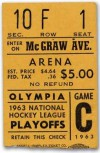 1954 Stanley Cup Gm 5 Canadiens at Red Wings