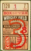 1932 World Series Game 3 Ticket Stub Yankees vs Cubs