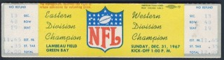 NFC Conference Championship Ticket Stubs