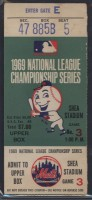 1969 NLCS Gm 3 Braves at Mets