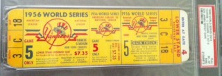 1956 World Series Gm 5 Full unused stub