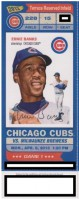 2013 MLB Brewers at Cubs opening day ticket stub