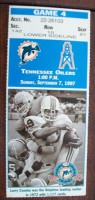 1997 NFL Tennessee Oilers at Dolphins