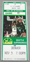 1988 NBA Nuggets at Supersonics