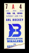 1990 AHL Red Wings at Whalers