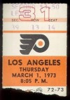 1973 Kings at Flyers