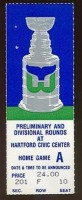 1987 NHL Playoffs Nordiques at Whalers