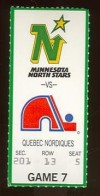 1990 NHL Nordiques at North Stars