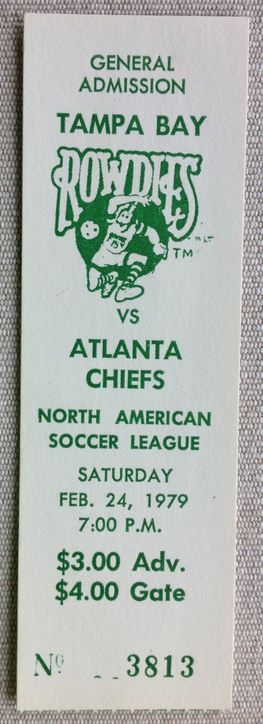 1979 NASL Atlanta Chiefs at Tampa Bay Rowdies