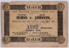 1908 Boxing ticket stub Tommy Burns vs Jack Johnson
