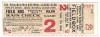1915 World Series Game 2 Ticket Stub Red Sox at Phillies