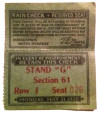 1920 Indianapolis 500 ticket stub