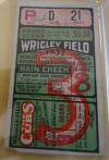 1926 MiLB Shreveport Sports at Ft. Worth Panthers ticket stub
