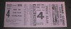 1928 World Series Game 4 Ticket Stub Cardinals at Yankees