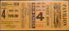 1928 World Series Game 4 Ticket Stub Cardinals vs Yankees