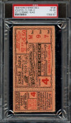 1929 World Series Game 4 Ticket Stub Chicago at Philadelphia