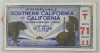 1931 NCAAF USC at California ticket stub