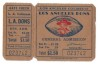 1940s Los Angeles Dons Full Ticket