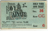 1941 NCAAF Navy at Harvard ticket stub