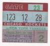 1946 AAFC New York Yankees at Chicago Rockets
