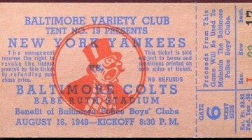 1949 AAFC New York Yankees at Baltimore Colts 15.82
