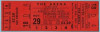 1950 AHL Cleveland Barons unused ticket vs New Haven