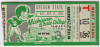 1953 NCAAF Oregon State at Michigan State ticket stub