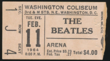 1964 Beatles Washington Coliseum 4133