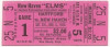 1966 EPBA Hartford Capitols at New Haven Elms ticket stub